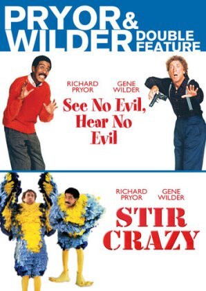 See No Evil, Hear No Evil (1989) / Stir Crazy (1980) - (Pryor & Wilder Double Feature)