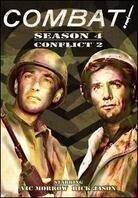 Combat - Season 4 - Conflict 2 (n/b, 4 DVD)