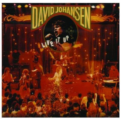 David Johansen - Live It Up
