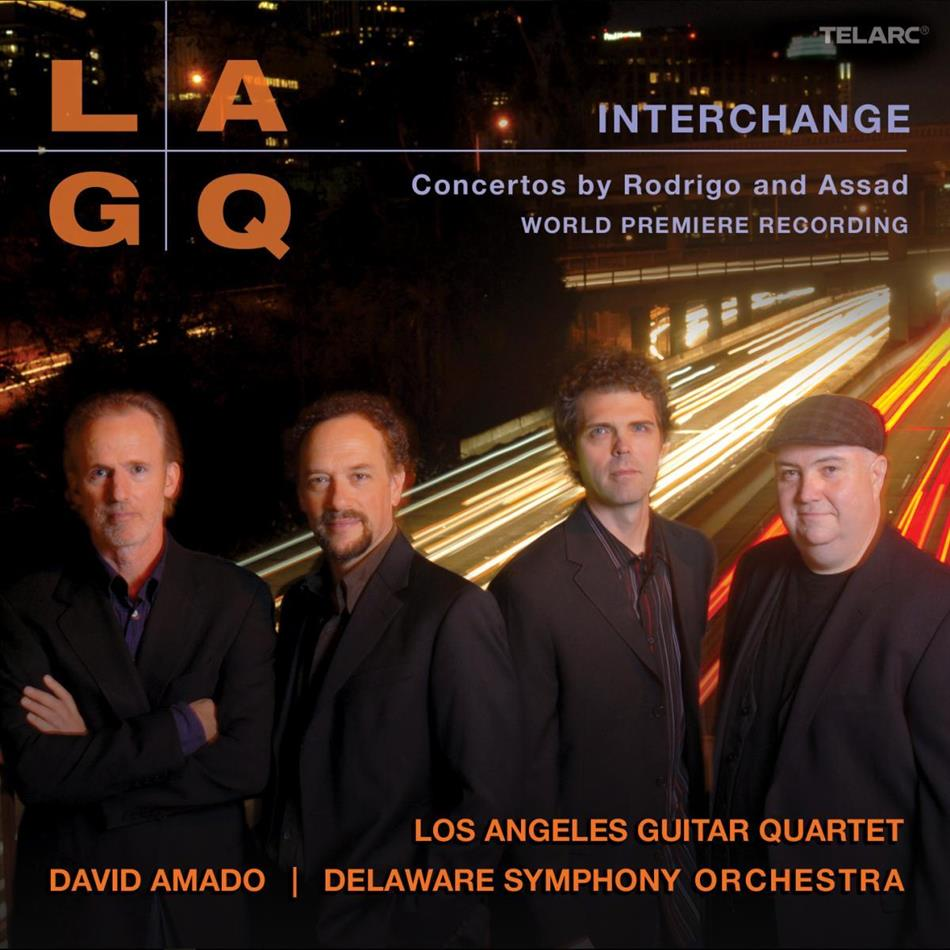 Amado David / Delaware So / Los Angeles & Assad / Rodrigo - Interchange - Concertos By