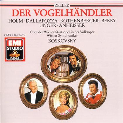 Rothenberger Anneliese / Boskovsky / Wsy & Carl Zeller - Vogelhaendler (Gesamt-Deutsch) (2 CDs)