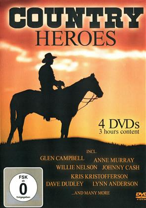 Various Artists - Country Heroes (Box, 4 DVDs)