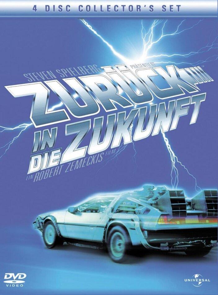 Zurück in die Zukunft Trilogy (Collector's Edition, 4 DVDs)