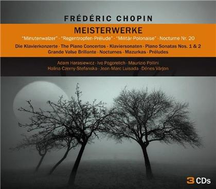 --- & Frédéric Chopin (1810-1849) - Meisterwerke (3 CDs)