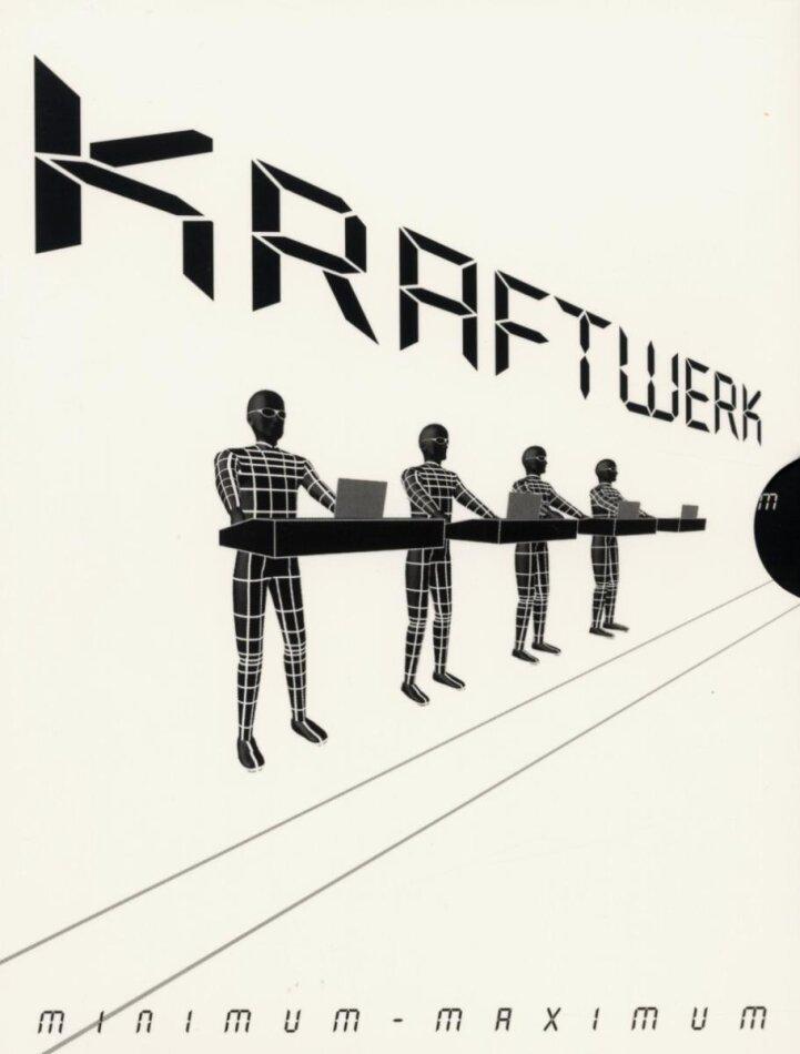 Kraftwerk - Minimum - Maximum (GSA Version 2 DVDs)