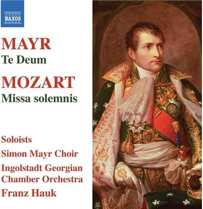 Hauk Franz / Ingoldstadt Georgian Co & Mozart / Mayr - Missa Solemnis / Te Deum
