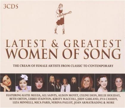 Latest & Greatest - Various - Women Of Song (3 CD)