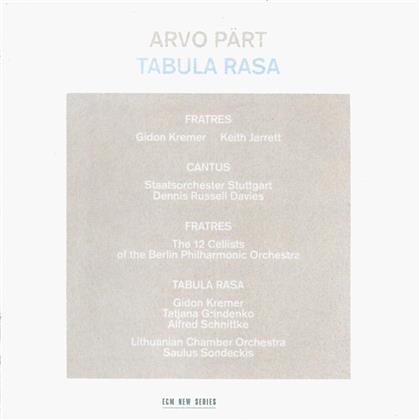 Pärt Arvo/Kremer Gidon/Jarrett Keith & Arvo Pärt (*1935) - Tabula Rasa (Deluxe Edition)