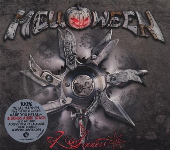 Helloween - 7 Sinners - Digipack