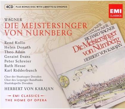 René Kollo, Helen Donath, Richard Wagner (1813-1883) & Herbert von Karajan - Meistersinger Von Nuernberg (5 CDs)