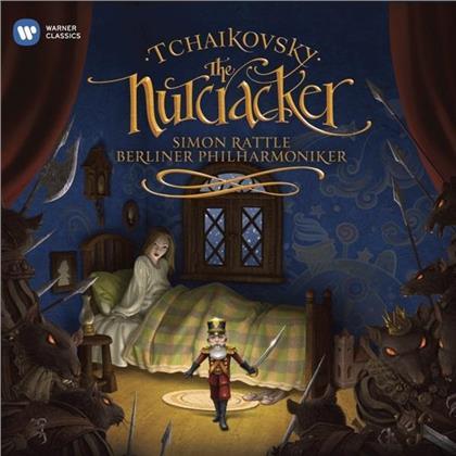 Peter Iljitsch Tschaikowsky (1840-1893), Sir Simon Rattle & Berliner Philharmoniker - Nussknacker - Nutcracker (Standard Edition, 2 CDs)