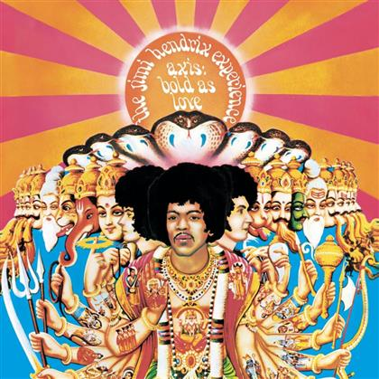 Jimi Hendrix - Axis: Bold As Love - Re-Release