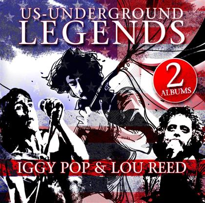 Iggy Pop & Lou Reed - Us - Underground Legends (2 CDs)