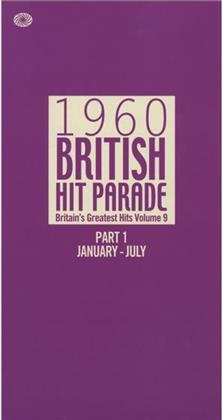 1960 British Hit Parade - Various - January-July (6 CDs)