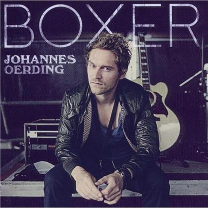 Johannes Oerding - Boxer - Jewelcase, 12seitiges Booklet