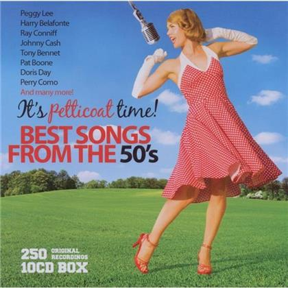 Best Songs From The 50'S (10 CDs)