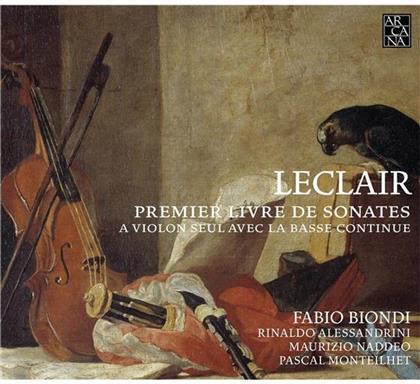 Biondi Fabio / Alessandrini Rinaldo & Jean-Marie Leclair (1697-1764) - Premier Livre De Sonates A Violon Seul