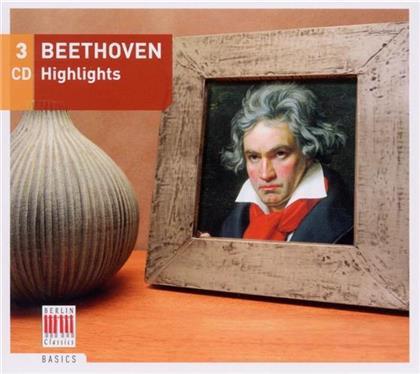 --- & Ludwig van Beethoven (1770-1827) - Highlights (3 CDs)