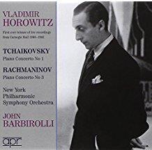 Vladimir Horowitz & Tschaikowsky/Rachmaninoff - Concertos