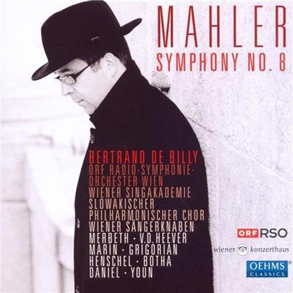 Billy Bertrand De / Orf Rso Wien & Gustav Mahler (1860-1911) - Sinfonie Nr. 8