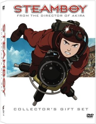 Steamboy (Director's Cut, DVD + Buch)