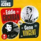 Cochran Eddie & Gene Vincent - Classic Icons (2 CDs)