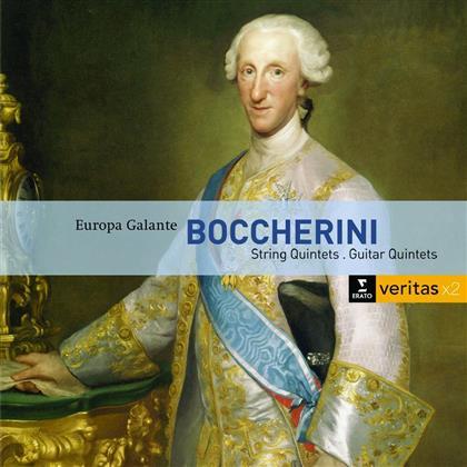 Biondi / Europa Galante & Luigi Boccherini (1743-1805) - Gitarren- & Streichquintette (2 CDs)