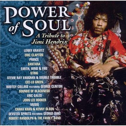 Tribute To Hendrix Jimi - Various - Power Of Soul (Sony)