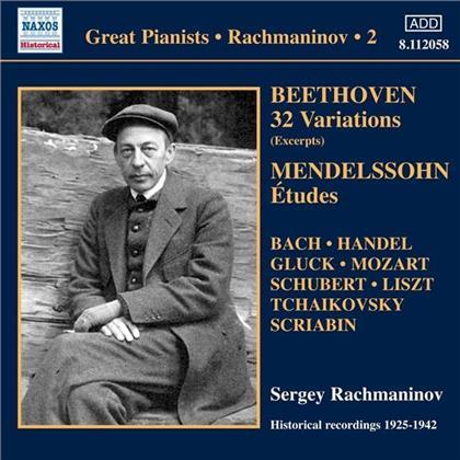 Sergej Rachmaninoff (1873-1943) & Sergej Rachmaninoff (1873-1943) - Klavierwerke Vol. 2