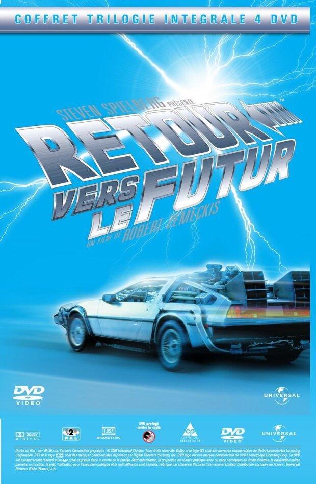 Retour vers le futur - Trilogy (Edition Collecteur 4 DVD)