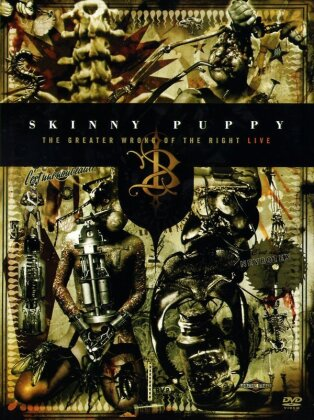 Skinny Puppy - The greater wrong of the right - Live (2 DVDs)