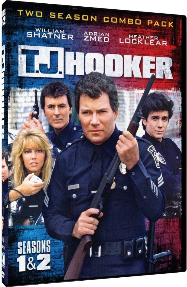 T.J. Hooker - Seasons 1 & 2 (5 DVDs)