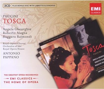 Gheorghiu Angela / Alagna / Pappano & Giacomo Puccini (1858-1924) - Tosca (3 CDs)
