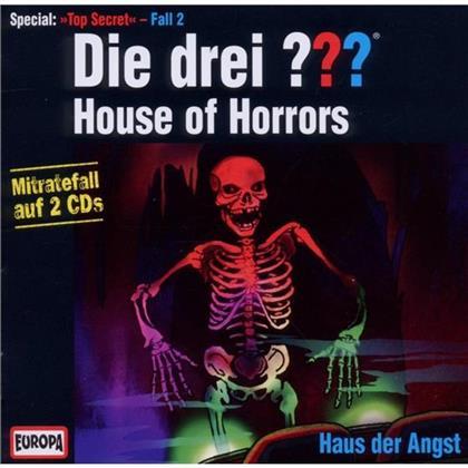 Die Drei ??? - House Of Horrors - Haus Der Angst (2 CDs)