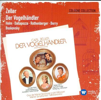 Rothenberger Anneliese/Dallapozza/Boskov & Carl Zeller - Vogelhaendler (2 CDs)