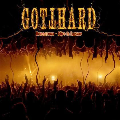 Gotthard - Homegrown - Alive In Lugano (CD + DVD)