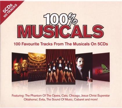 100% Musicals (5 CD)