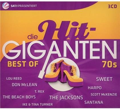 Hit Giganten - Various - Best Of 70'S (3 CDs)