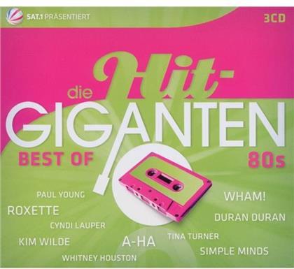 Hit Giganten - Various - Best Of 80's (3 CDs)