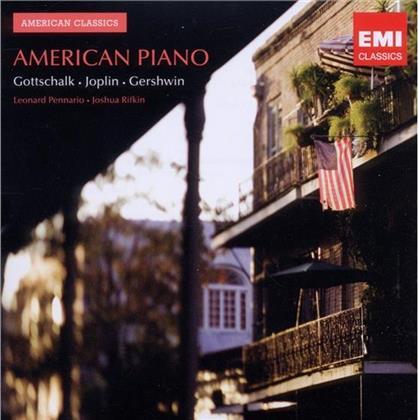 Leonard Pennario & Gottschalk/ Joplin/ Gershwin - American Piano