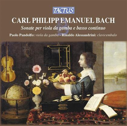 Paolo Pandolfo & Carl Philipp Emanuel Bach (1714-1788) - Sonate Per Viola Da Gamba E Ba