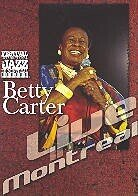 Carter Betty - Live in Montreal