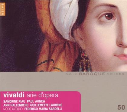 Piau Sandrine / Hallenb / Agnew/Sardelli & Antonio Vivaldi (1678-1741) - Arien