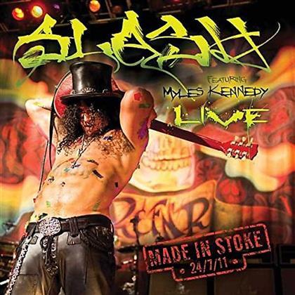 Slash feat. Myles Kennedy (Alter Bridge/Slash) - Made In Stoke 24/7/11 (2 CDs)