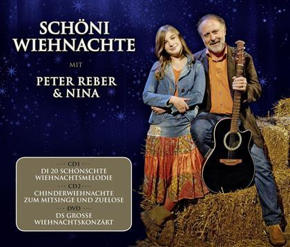 Peter Reber & Nina Reber - Schöni Wiehnachte (2 CDs + DVD)