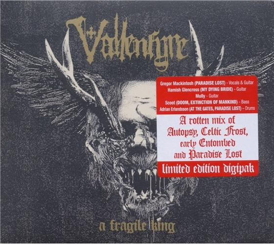 Vallenfyre - A Fragile King - (Limited Edition)