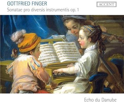 Echo Du Danube Ensemble & Gottfried Finger - Sonaten Op.1