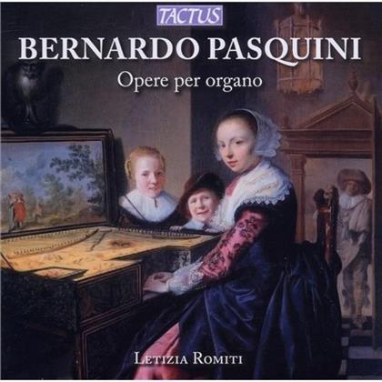 Letizia Romiti & Bernardo Pasquini - Werke Fuer Orgel