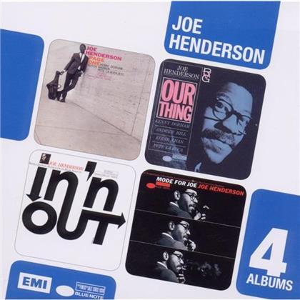 Joe Henderson - 4In1 (4 CDs)