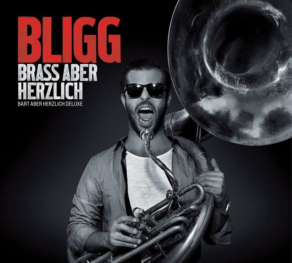 Bligg - BRASS ABER HERZLICH - BART (Deluxe Edition, 2 CDs + DVD)